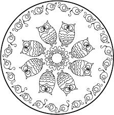 mandala a colorier gratuit a imprimer 4 mandalas de difficulté