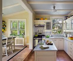 Kitchen Yellow Walls - love the blue ceiling and yellow walls what are the colors