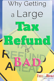 You Absolutely Should Not Be Like Bill The Smarmy Stick - you could be losing out if you are getting a big tax refund