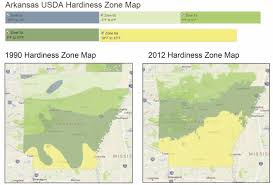 Usda Zone Map Climate Change In Arkansas Fayetteville Ar Official Website