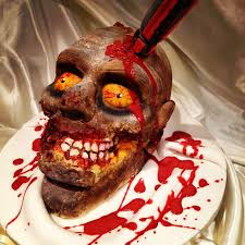 gory halloween cakes walking dead zombie cake cake by s u0026 j foods cakesdecor