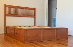 queen captains bed how to find more room in your bedroom laluz