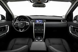 new land rover interior 2016 land rover discovery sport overview