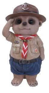 arts baby meerkat boy scout size d arts garden