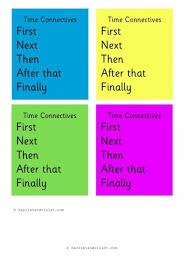 time worksheet new 688 time connectives worksheet