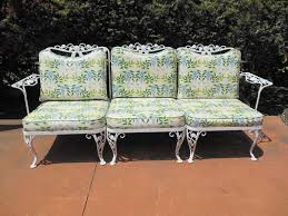 Best Vintage Wrought Iron Patio Furniture Images On Pinterest - Outdoor iron furniture