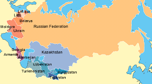 former soviet union map learning page regions