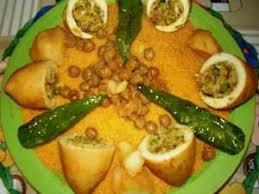 recette cuisine couscous tunisien recette couscous aux calamars farcis