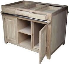 meuble cuisine en chene meuble cuisine en bois brut cuisine et bois en 42 ides