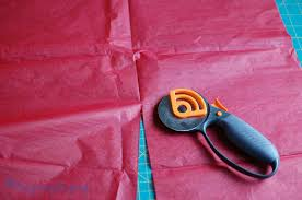 diy tutorial how to make tissue paper tassels catch my party