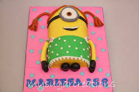 Minion Birthday Cake For Image Inspiration Of Cake And