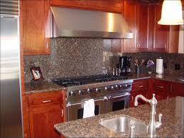 Embossed Tin Backsplash by Kitchen Microwave Cabinet Dark Kitchen Cabinets Fasade