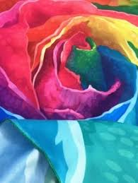 Multicolor Roses Multicolor Rose Design Beach Throw Colorful Beach Accessories One
