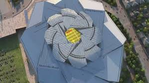 of mercedes roof issues pose risk of another delay of mercedes stadium