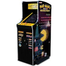 the 30th anniversary authentic pac man arcade game hammacher