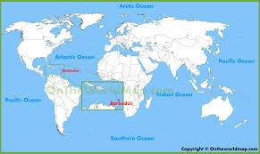 map usa barbados barbados on world map pointcard me