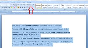 how to put text in alphabetical order in word libroediting