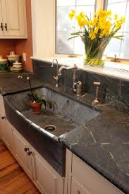 Soapstone Kitchen Sinks Seamless Thinking Options For Sink U0026 Countertop Arts U0026 Crafts