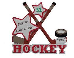 hockey ornament etsy