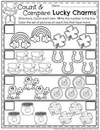 march preschool worksheets planning playtime