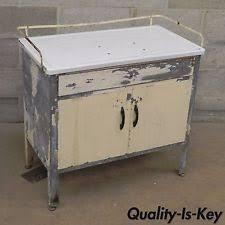 Antique Kitchen Cabinet With Flour Bin Antique Metal Cabinet Ebay