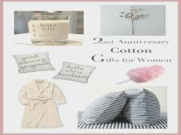 2nd anniversary gifts for 2nd anniversary gifts for runway chef cotton wedding