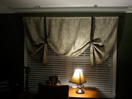 Tie Up Curtains How To Make A Tie Up Shade Writes