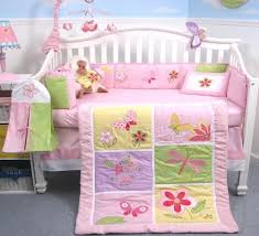soho butterflies meadows baby crib nursery bedding set 13 pcs
