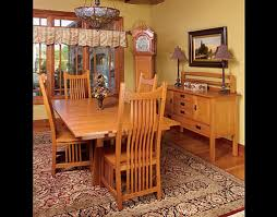 mission style dining room furniture by schrocks of walnut creek