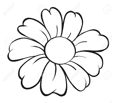 Flower Drawings Black And White - flower cartoon stock photos u0026 pictures royalty free flower