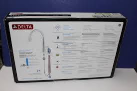 delta bellini kitchen faucet delta 11946 sssd dst bellini series brilliance stainless finish