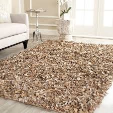 Safavieh Leather Shag Rug Top 70 Out Of This World Room Leather Shag Area Rug Rugs Interior