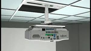 How To Hang Projector From Ceiling by Mounting Your Projector On The Ceiling