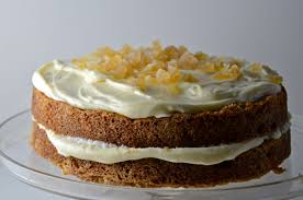 Carrot Cake With Ginger Mascarpone Icing Kolo On The Stereo I