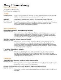 template for a resume template for resume matthewgates co