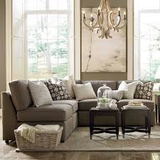 Small L Tables For Living Room L Shaped Sectional In Townhouse Living Room Pinterest