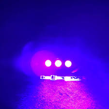 Purple Led Halloween Lights Halloween Orange Fog Machine With Mini Led String Lights Idjnow