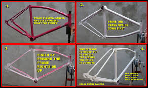 Matte Black Spray Paint For Bikes - free advice on how to fix your bicycle how to repaint your bicycle
