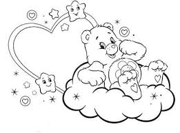 375 care bears coloring quilts images
