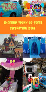 Halloween Trunk Or Treat Ideas by Check Out These 10 Genius Trunk Or Treat Decorating Ideas Trunk