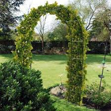 new self assembly garden metal arch for climbing plants u0026 roses