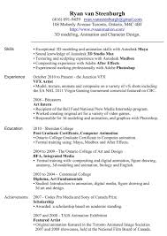 resume programmer curriculum vitae canadian resume builder resume of computer