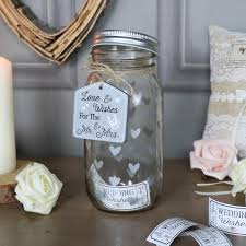 wedding wish jar glass wedding wish jar melody maison