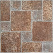 mintcraft cl3018 vinyl floor tile terra cotta vinyl floor