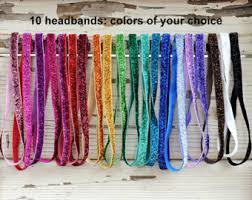 elastic headbands elastic headband etsy