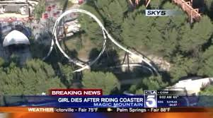 dies day after she out on magic mountain ride ny