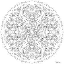don u0027t eat the paste paisley mandala coloring page