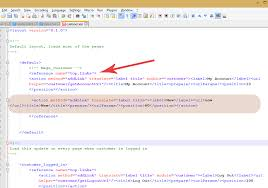 add js layout magento magento how to add a custom link to header links template monster