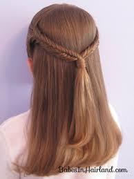 simple pulled back fishbone braids in hairland hair