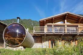 luxury ski chalet chamonix mont blanc marmotte mountain eco lodge